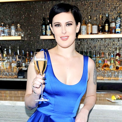 Rumer Willis Glams Up Lunch in a Stunning Blue Dress in NYC