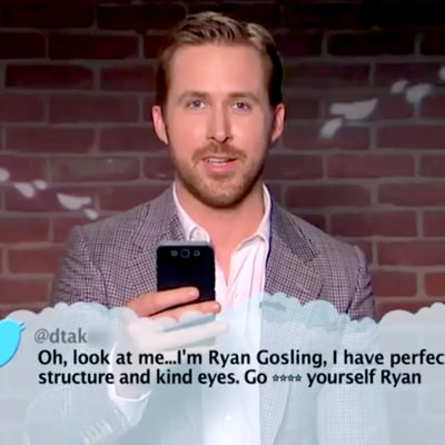 Ryan Gosling, Emma Stone and More Stars Read 'Mean Tweets' During 2017 Oscars