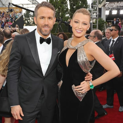 Golden Globes 2017: Blake Lively, Ryan Reynolds Stun in Classy Silhouettes on Red Carpet