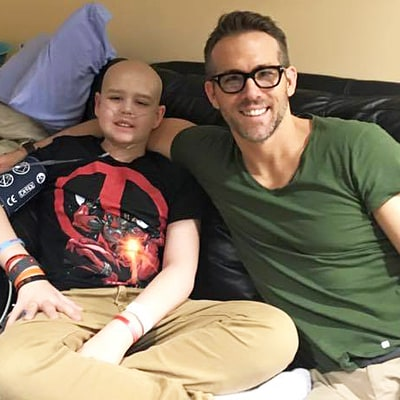 Ryan Reynolds Pens Beautiful Tribute to 13-Year-Old 'Deadpool' Fan Who Died of Cancer