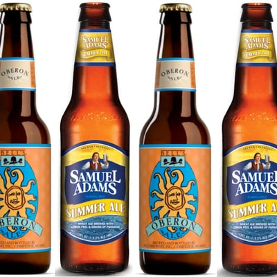 Better Summer Beer: Sam Adams Summer Ale or Bell's Oberon?