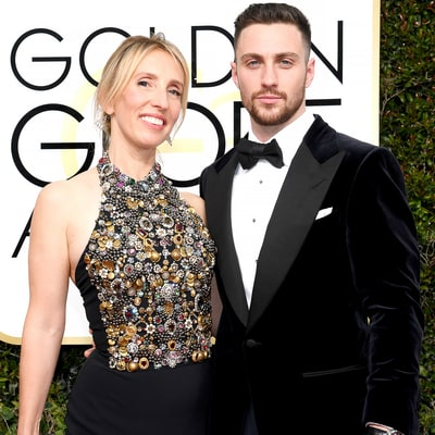 Aaron Taylor-Johnson Thanks Wife Sam Taylor-Johnson, Daughters in Golden Globes 2017 Speech