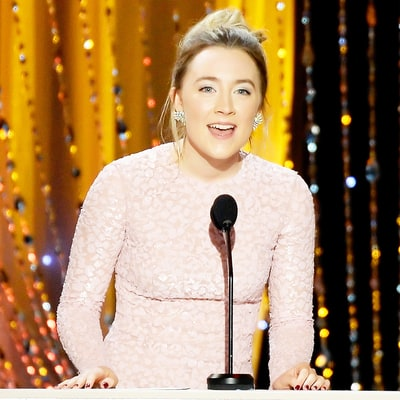 Saoirse Ronan Appears on Stage Late to Present at SAG Awards 2016: Watch Her Flustered Reaction!