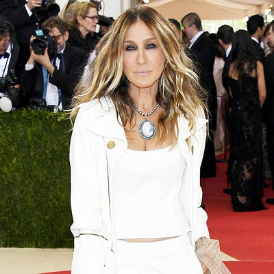 Sarah Jessica Parker Surprises in an All-White Pants Look on Met Gala 2016 Red Carpet: Love It or Hate It?