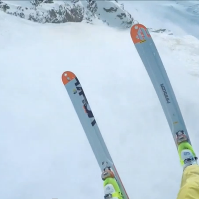 This Skier Makes Flying Over an Avalanche Look Easy