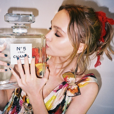 Lily-Rose Depp Is the New Face of Chanel No. 5 L'Eau Fragrance
