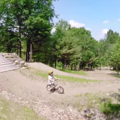 Pro Mountain Biker Aaron Chase Taught His Toddler to Ride (And You Should Too)