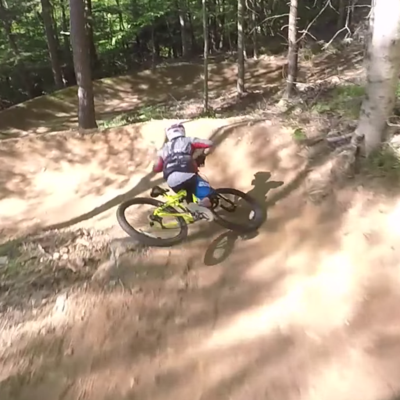 Downhill Racer Destroys a Walmart Bike By Taking It on a Real Trail
