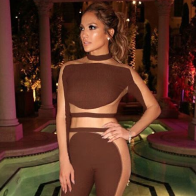 Jennifer Lopez Wore a Nearly Naked Birthday (Jump)suit to Celebrate Her 47th