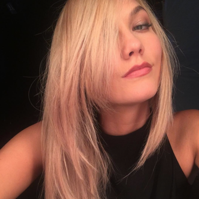 Karlie Kloss Is 'Already Having More Fun' as a Platinum Blonde