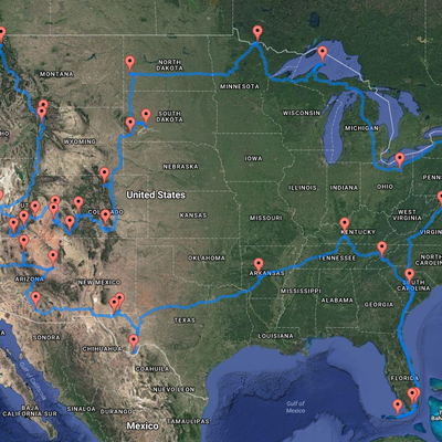 The 14,500-Mile Road Trip Through Every National Park