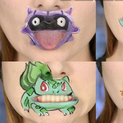 Beauty Bloggers Are Turning Their Mouths Into Pokemon Characters: See Pics of Pokemouths!