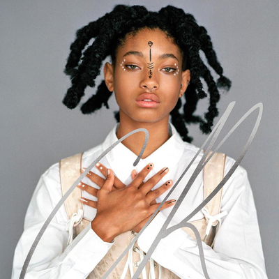Willow Smith Covers CR Fashionbook in Corset, Drawn-On Makeup