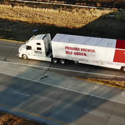 A Shipment Worthy of the World's First Autonomous Truck: 51,744 Beers