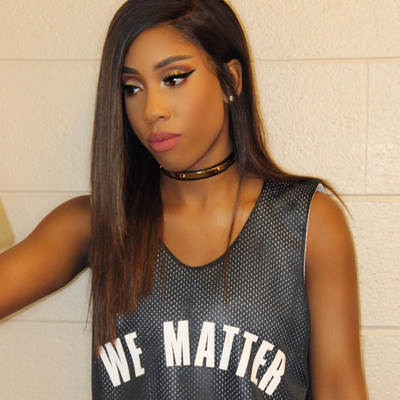 R&B Singer Sevyn Streeter Couldn't Sing the National Anthem Because of Her 'We Matter' Jersey