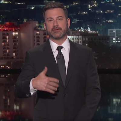 Jimmy Kimmel Lets High School Valedictorian Finish His Graduation Speech