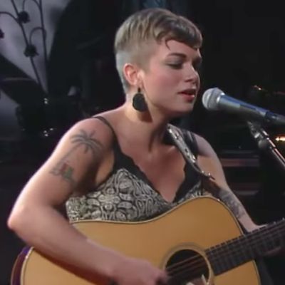 See Lillie Mae's Hypnotic 'Over the Hill and Through the Woods' on 'Colbert'
