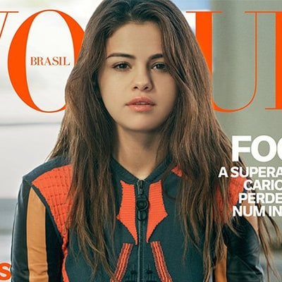 Selena Gomez Gets Stunning Makeunder for Two Separate 'Vogue Brazil' Covers
