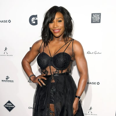 Serena Williams Shows Off Toned Body in See-Through Bustier Gown
