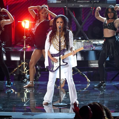 Sheila E. Pays Tribute to Prince During Emotional 2016 BET Awards Performance