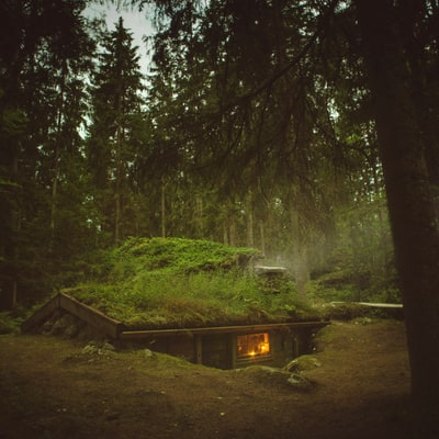 Shelter of the Week: A Swedish Cabin That's Completely Off the Grid