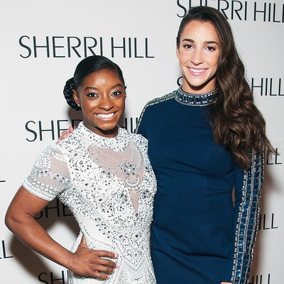 Simone Biles, Aly Raisman Style Themselves for the Red Carpet: 'It's Our Turn to Take Control'