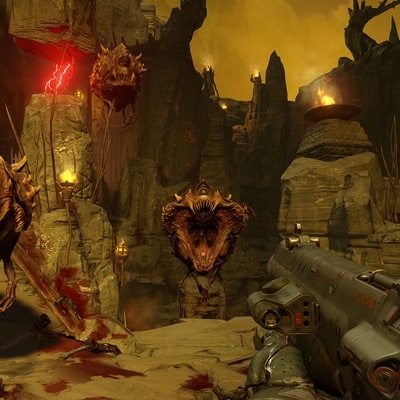 'Doom's' Multiplayer DLC Goes Free With Game's Latest Patch