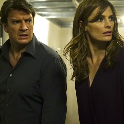 Stana Katic Would 'Cry' in Her 'Castle' Dressing Room Over Nathan Fillion Friction