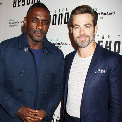 Idris Elba and Chris Pine Stun on the Red Carpet at the Star Trek Beyond Premiere