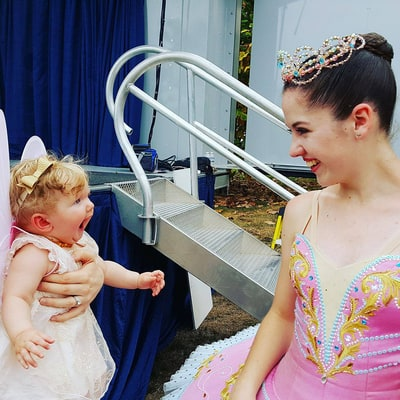 This Baby's Reaction to Meeting a Ballerina Will Melt Your Heart