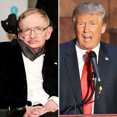 Stephen Hawking: Donald Trump Is a 'Demagogue' Who Appeals to the 'Lowest Common Denominator'