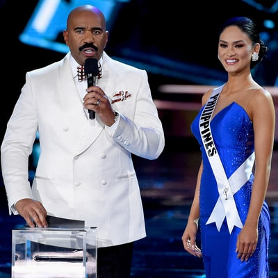 Steve Harvey, Miss Universe Twitter Accounts Tease Oscars for Best Picture Mix-Up