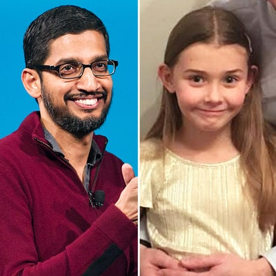 Google CEO Sundar Pichai Had the Best Response After 7-Year-Old Asked for a Job