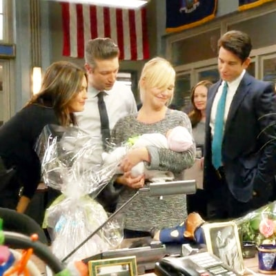Law & Order: SVU's Amanda Rollins Debuts Her Baby, Played by Kelli Giddish's Real-Life Child: Watch!