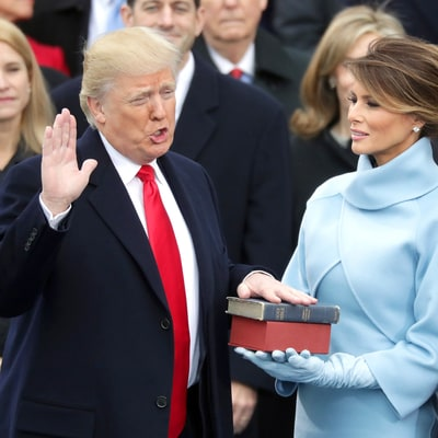 Donald Trump Sworn in as 45th President of the United States at Inauguration Ceremony: Watch the Moment