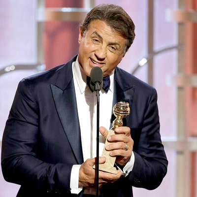 Sylvester Stallone Pays Tribute to Late Son After Emotional Golden Globes 2016 Win