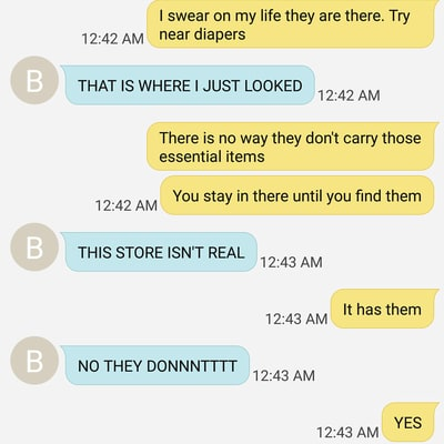 Mom Shares Hilarious Text Exchange With Teen Daughter About Tampons
