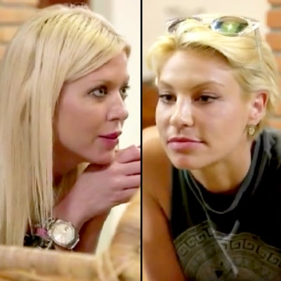 Tara Reid Threatens Lisa D'Amato on 'Marriage Boot Camp: Reality Stars': 'I'm Not Scared of You!'