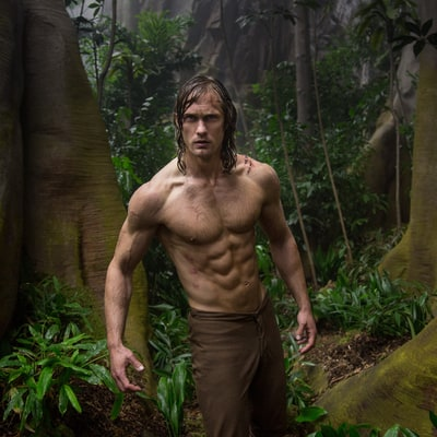 How Alexander Skarsgard Got 'Tarzan' Fit