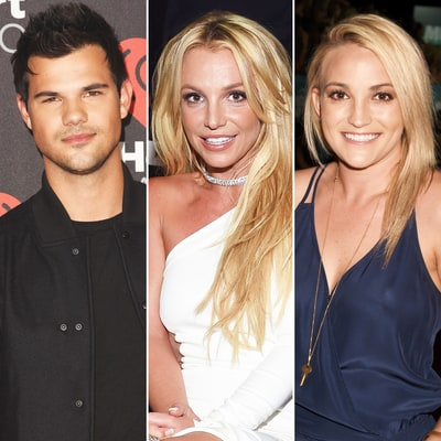 Taylor Lautner Says Britney Spears Once Tried to Set Him Up With Sister Jamie Lynn