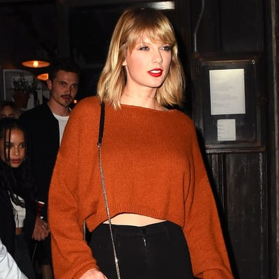 Taylor Swift, Lucy Hale and More Wear Pumpkin Spice–Inspired Fashions for Fall 2016