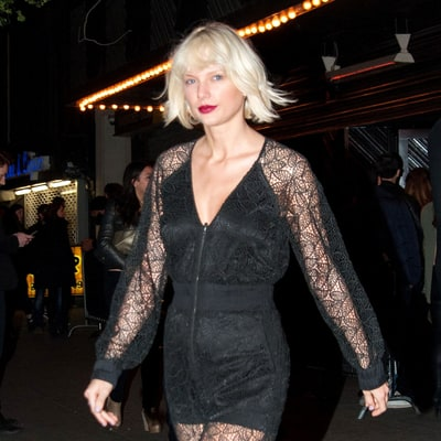 Taylor Swift Switches From Edgy Lace Jumpsuit to Grungy Plaid — Which Street Style Is Better?