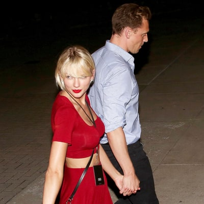 Taylor Swift, Tom Hiddleston Hold Hands After Sexy Concert Date: Pictures