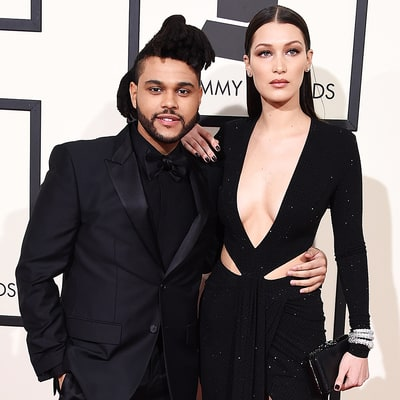 Bella Hadid, The Weeknd Are Grammys 2016 Couple Goals: See Their Sexy Red Carpet Looks!