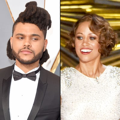 The Weeknd Cracks Up During Stacey Dash's Surprise Oscars 2016 Appearance: Reaction GIF