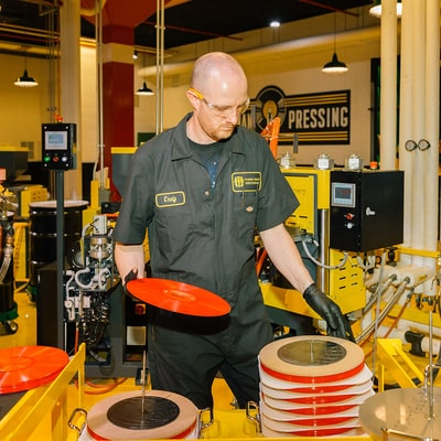 Inside Jack White's New Vinyl-Pressing Paradise