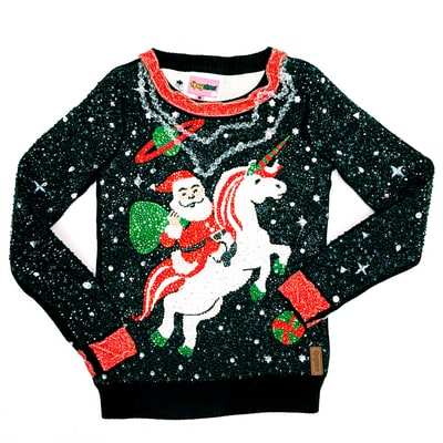 This $30,000 Ugly Christmas Sweater Is Made With Nearly 25,000 Swarovski Crystals