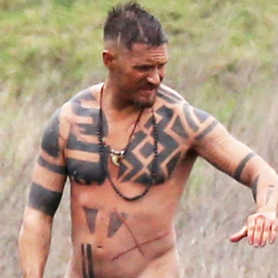 Tom Hardy Strips Totally Naked While Filming in England: See the NSFW Pics!