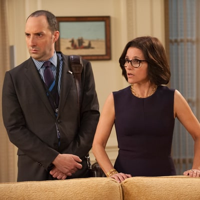 Veep's Tony Hale Reveals Julia Louis-Dreyfus' Hilarious Critique After He Broke Character by Laughing
