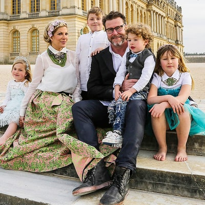 Tori Spelling and Dean McDermott Celebrate Third Proposal in Versailles With Their Kids: See the Photos